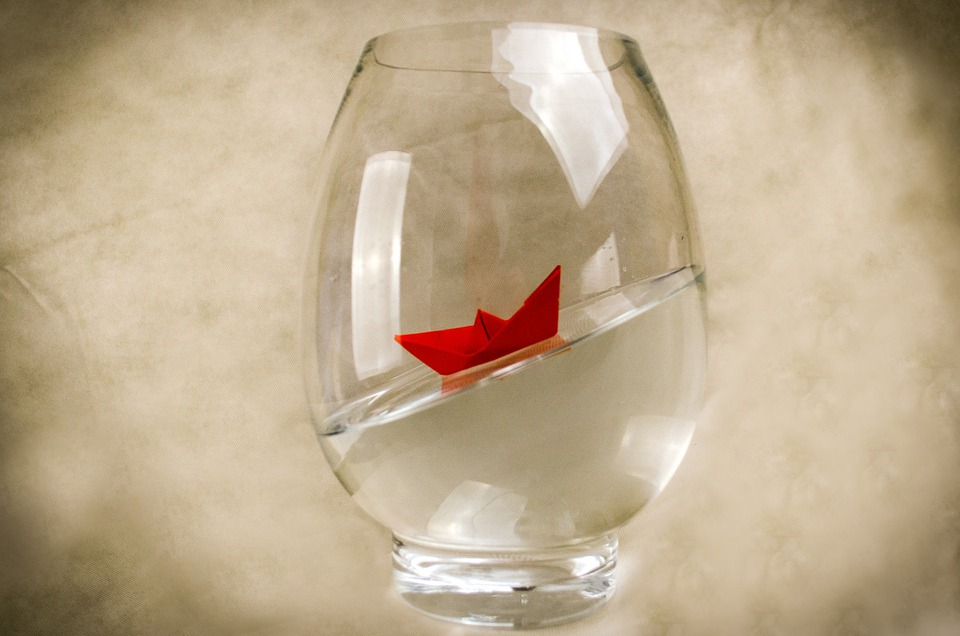 Free Photo Paper Boat Ship Boat Vase Red Travel Away Water Max Pixel