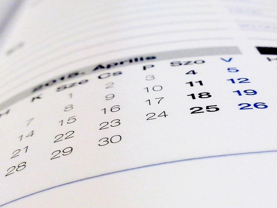 Book, Calendar, Paper