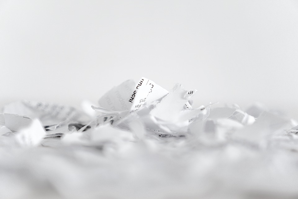 Paper, Shredder, Flakes, Recycling, Cut, Shredded Paper