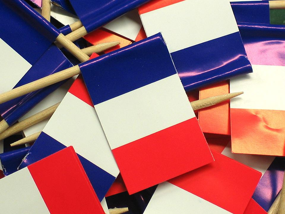 Flag, France, Blow, Flags And Pennants, Spit, Paper