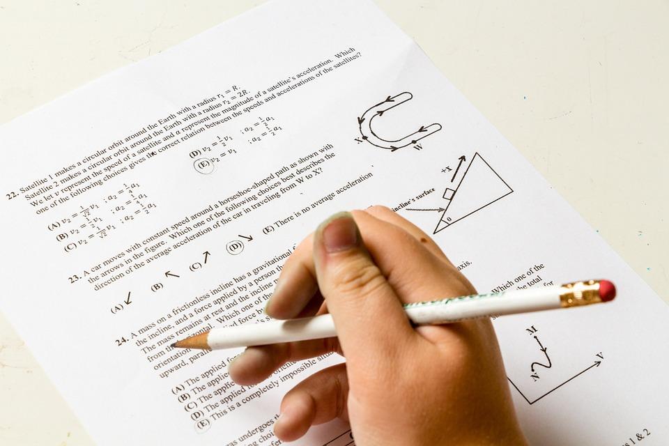 Homework, School, Problem, Number, Paper, Physics