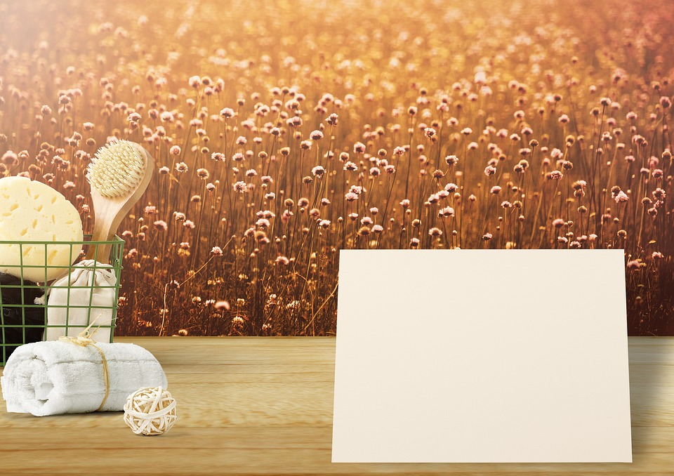 Background Image, Flowers, Paper, List, Map, Towel