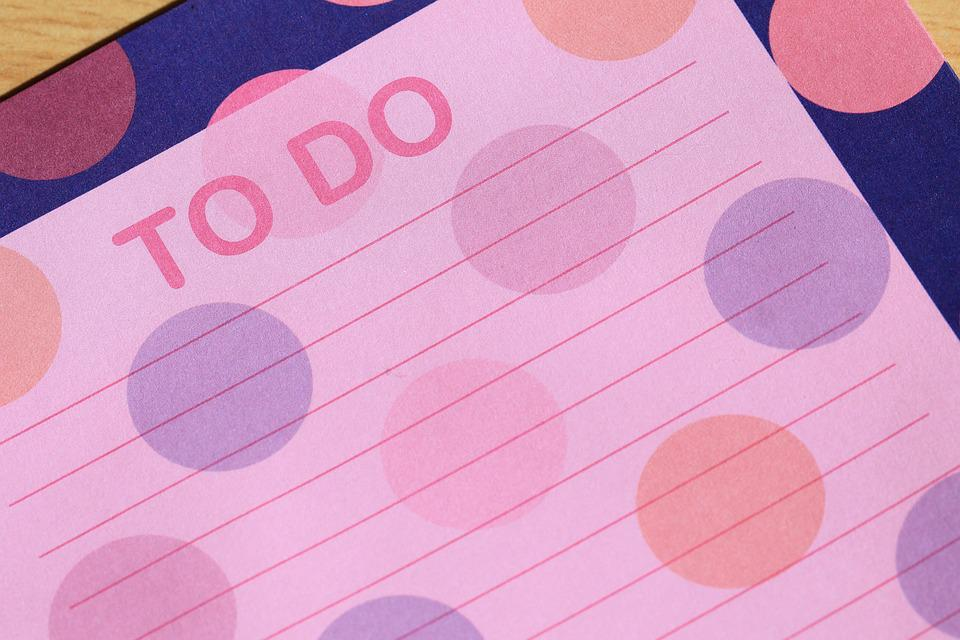 List, To Do, To, To Do List, Do, Paper, Reminder, Note