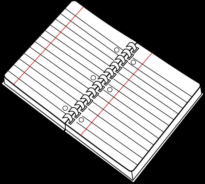 Ring Binder, Notebook, Note, Paper, School