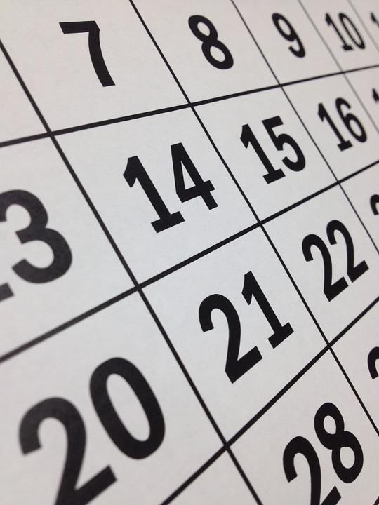 Calendar, Date, Time, Month, Week, Planning, Paper