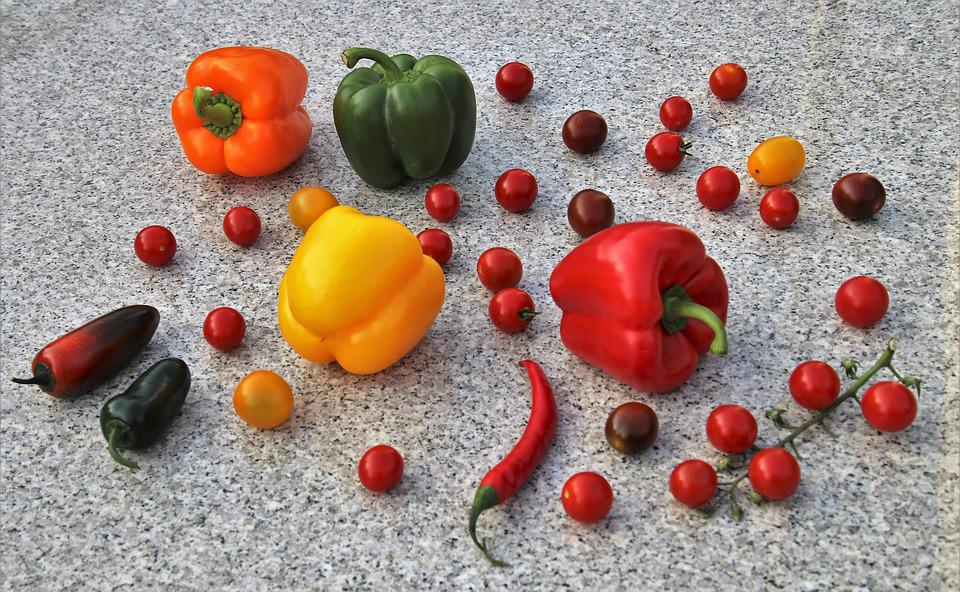 Vegetables, Paprika, Colorful, Yes, Vitamins, Bio, Diet