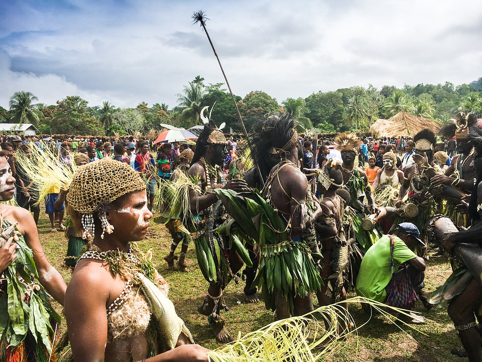 Papua, Crocodile, Sepik River, Tribe, Africa, Dance