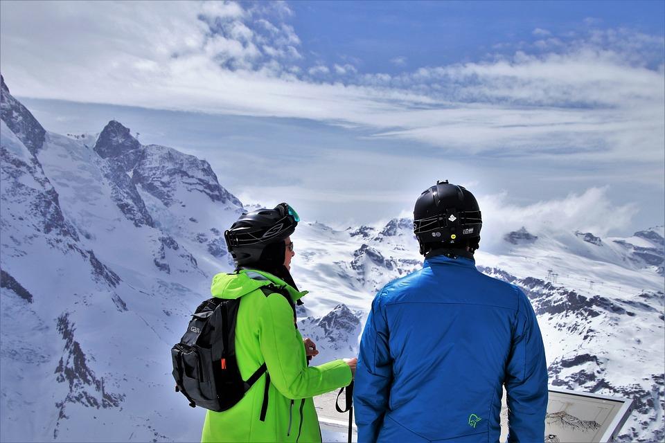 Para, Zermatt, Snow, Winter, At The Court Of, Ice