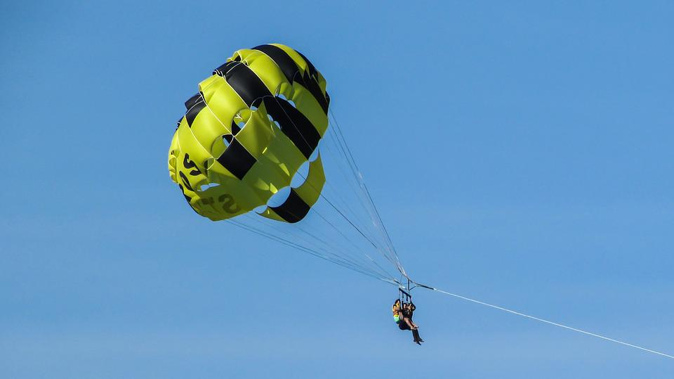 Paragliding, Sea Sport, Fly, Sky, Extreme, Parachute