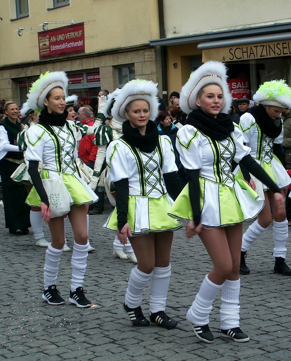 Carnival, Shrove Monday, Parade, Radio-garde, Forchheim