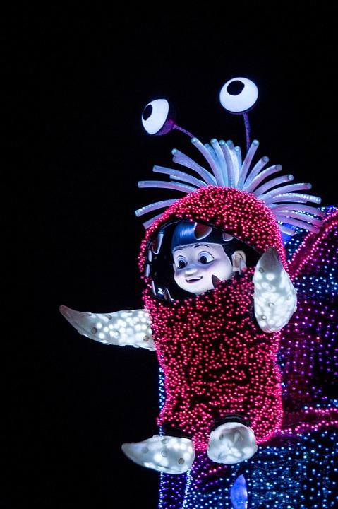 Disney, Monster's Inc, Japan, Parade, Tokyo