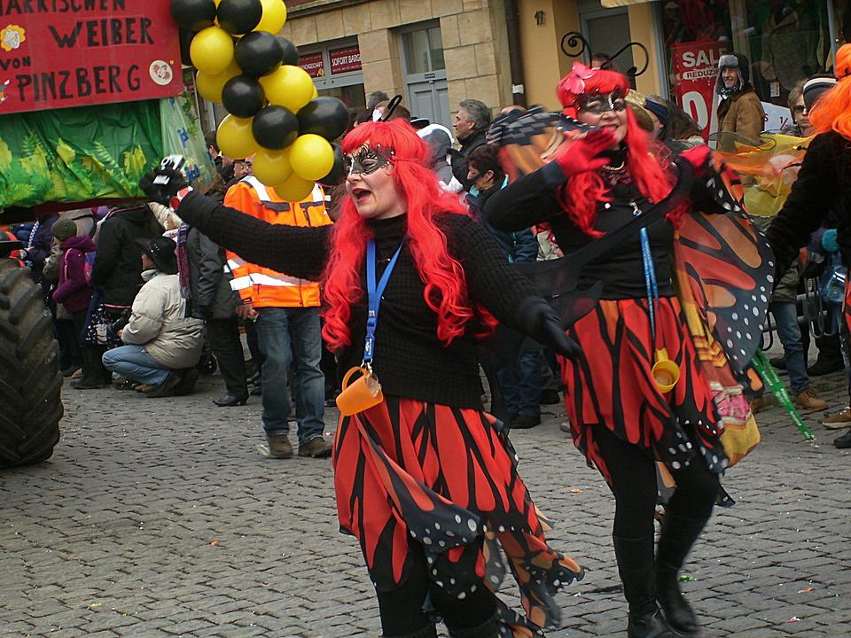 Carnival, Shrove Monday, Parade, Witches, Forchheim