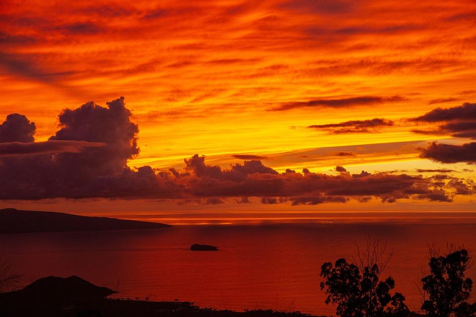 Sunset, Hawaii, Tropicale, Holiday, Paradise, Island