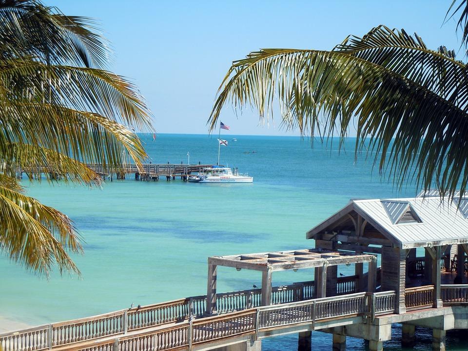 Key West, Florida, Paradise, Beach, Ocean