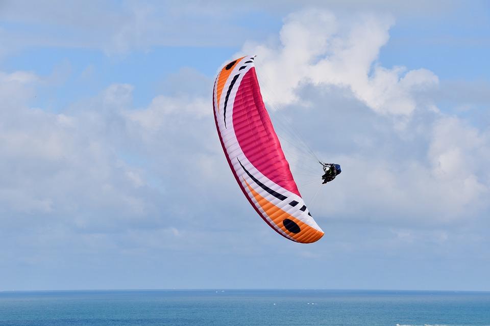 Paragliding, Paraglider, Aircraft, Free Flight