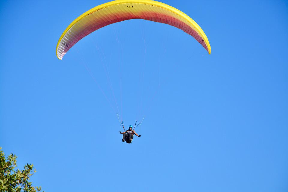 Paragliding, Paraglider, Paragliding Professional