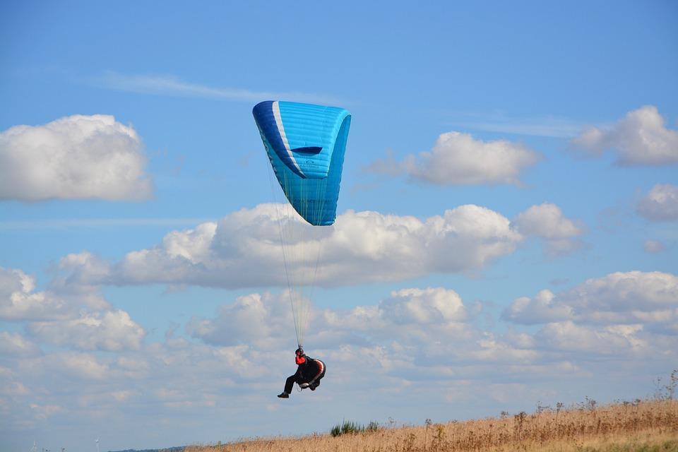 Paragliding, Paraglider, Sailing, Wing, Free Flight