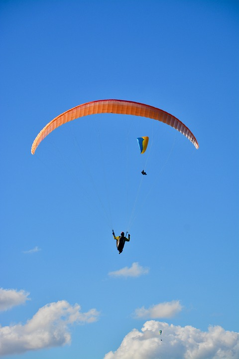 Paragliding, Paraglider, Sailing, Wing