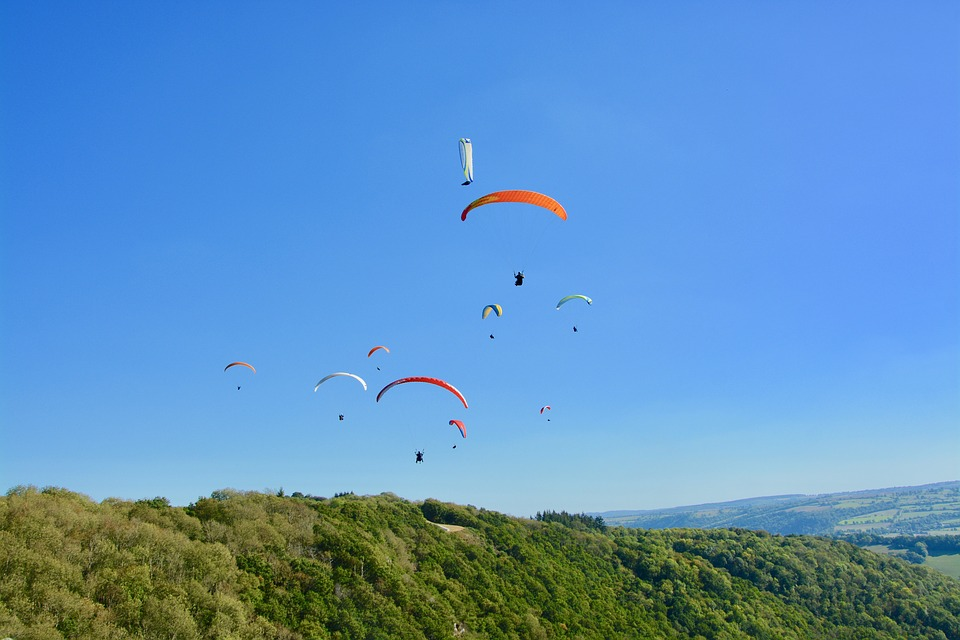Paragliding, Paraglider, Paragliders, Panoramic Views