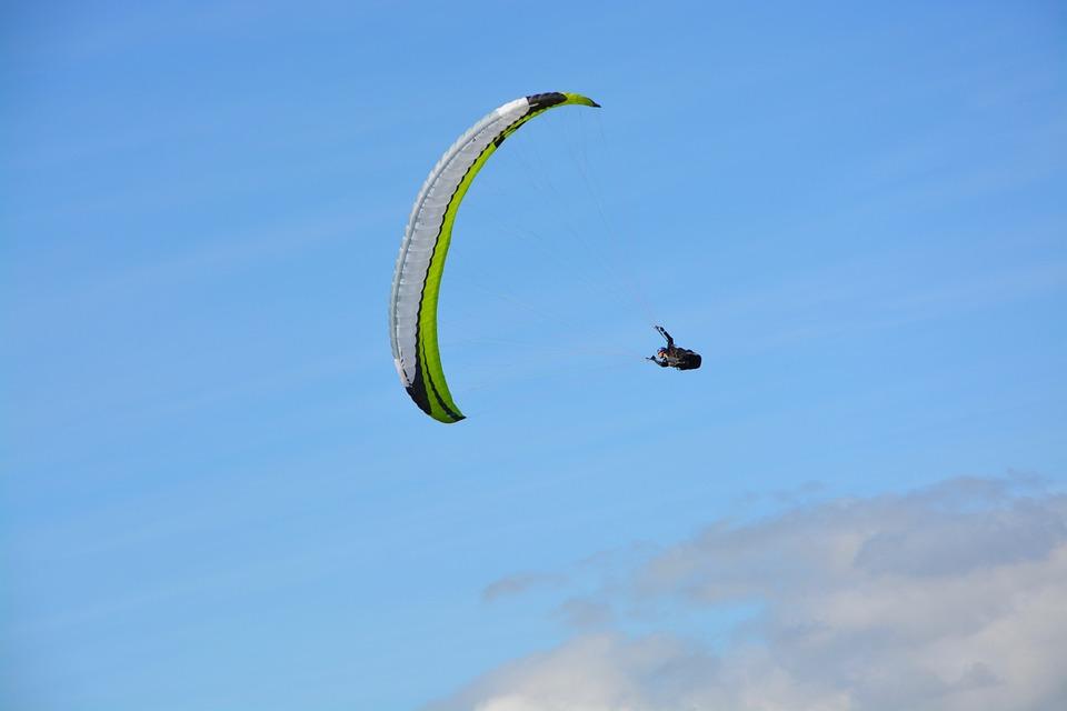 Paragliding, Free Flight, Figure, Sport, Activity, Wind