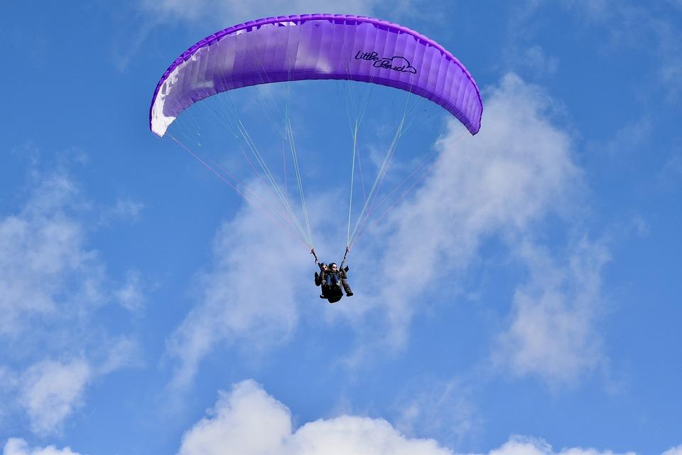 Paragliding, Paraglider, Paragliding Bis Place