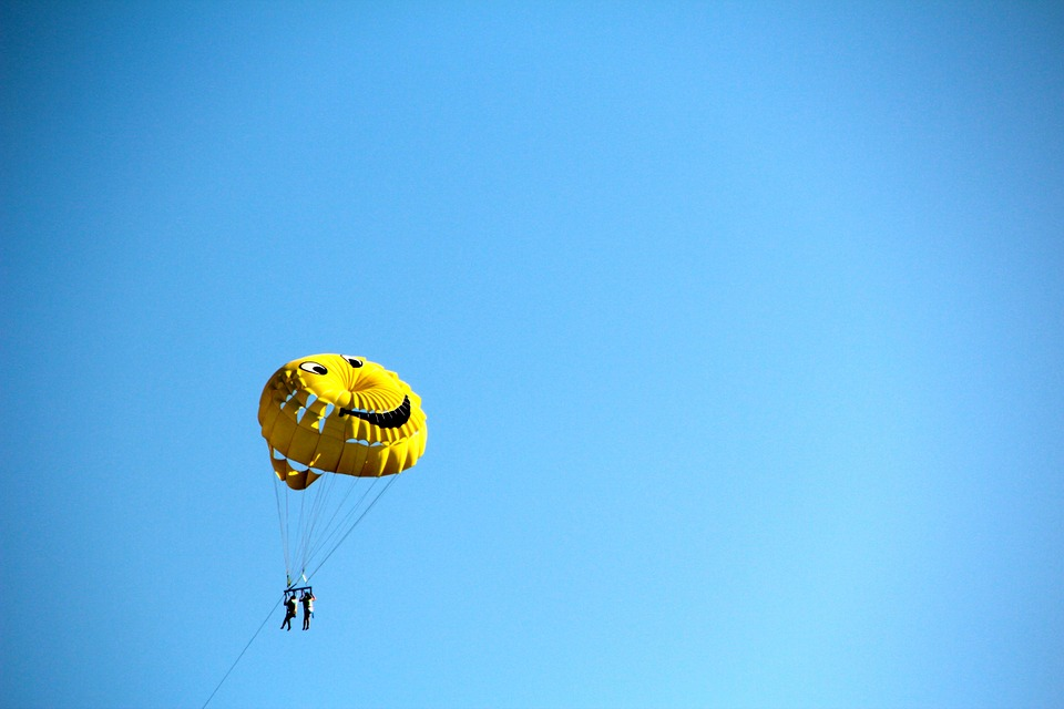 Parachute, Paragliding, Fly