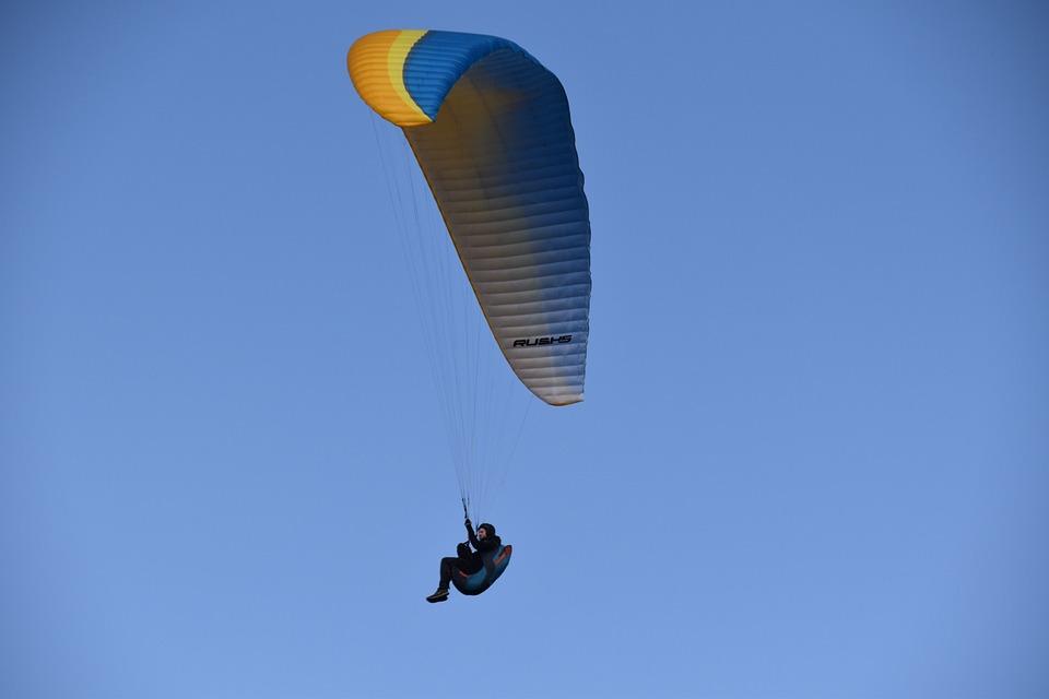 Paragliding, Paraglider, Free Flight, Sport, Adventure