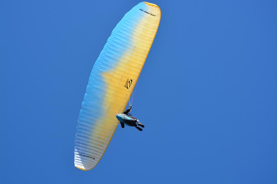 Paragliding, Paraglider, Aircraft