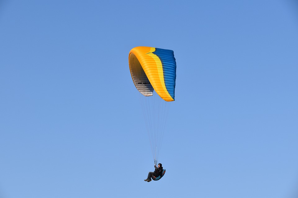 Paragliding, Paraglider, Ozone Wing Ruch 5, Free Flight