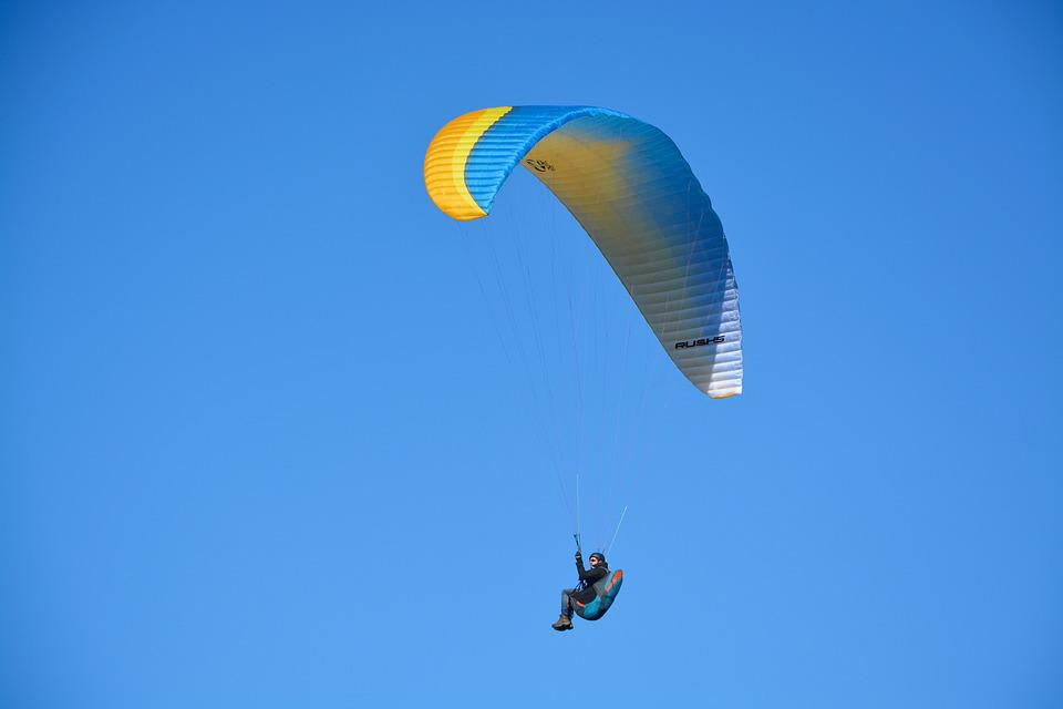 Paragliding, Paraglider, Wing Ozone Rush 5