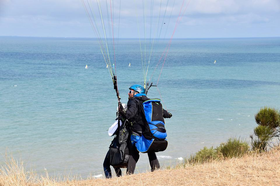 Paragliding, Paraglider, Preparation