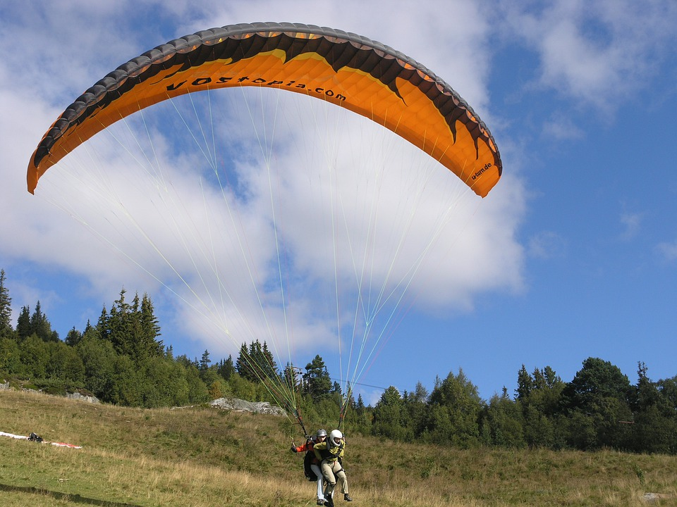Voss, Hang Gliding, Sport, Norway, Risk, Paragliding
