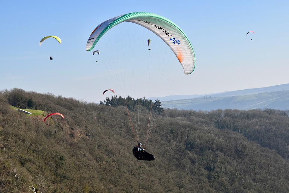 Paragliding, Paraglider, Sails Of Paragliders