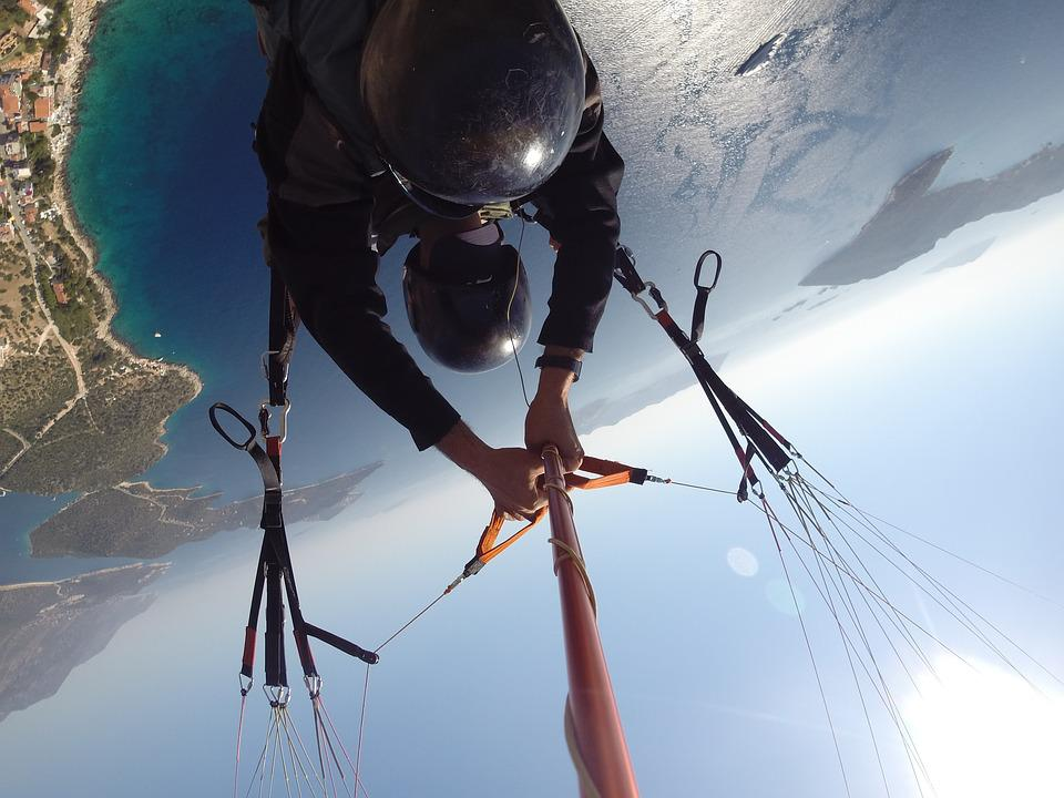 Travel, Turkey, Paragliding, Sport, Extreme