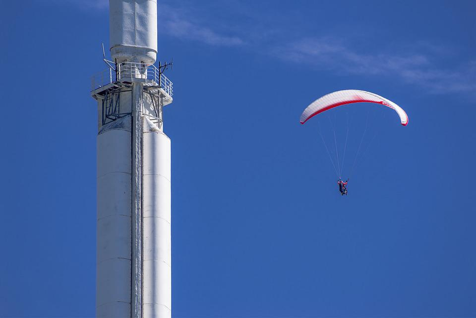 Paragliding, Glider, Paraglide, Sport, Fly, Emitter
