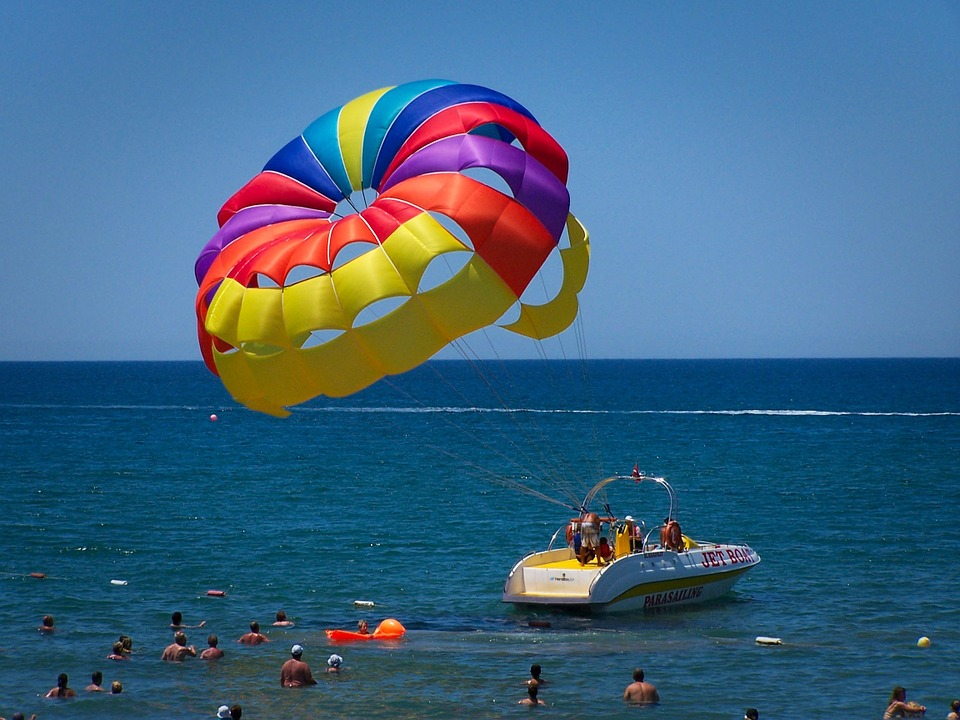 Paragliding, Turkey, Holiday, Side, Turkish Riviera