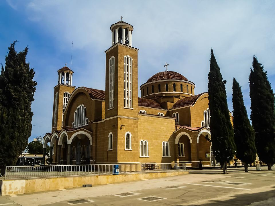 Cyprus, Paralimni, Church, Orthodox