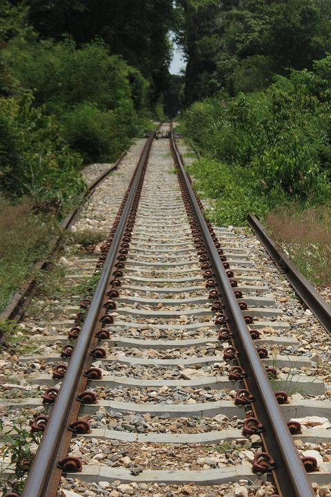 Railway, Parallel, Tracks, Railroad, Infrastructure
