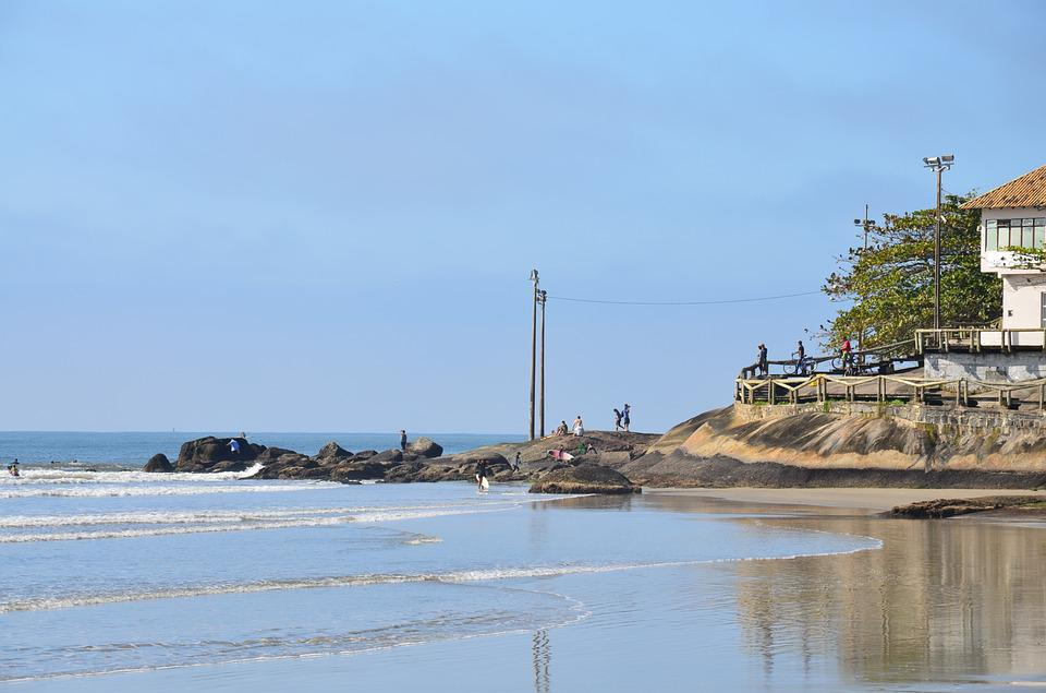 Beach, Matinhos, Paraná, Brazil