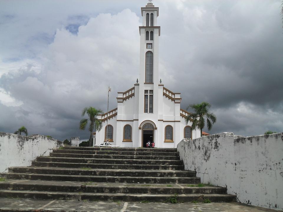 Church, Paraná, Staircase