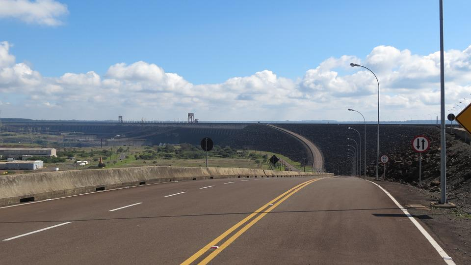 Itaipu, Paraná, Trip, Tourism, Road, Sky, Cloud