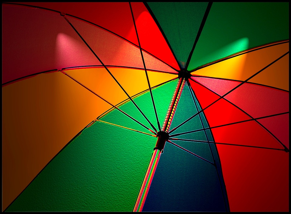 Umbrella, Screen, Colorful Umbrella, Parasol