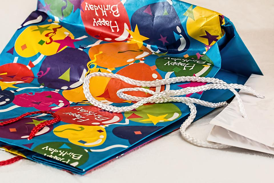 Gift Wrapping, Birthday, Parcel, Package, Present