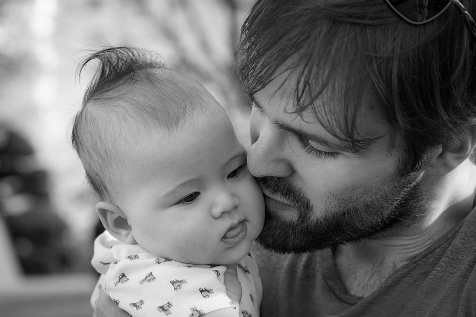 Man, Baby, Father, Dad, Parent, Fatherhood, Love