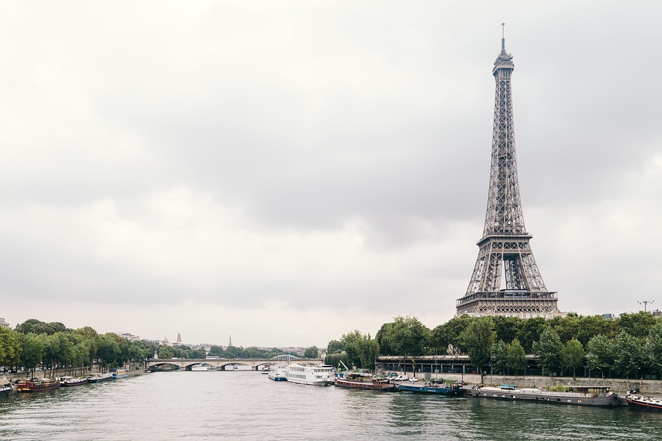 Architecture, Eiffel Tower, Paris, River Seine, City