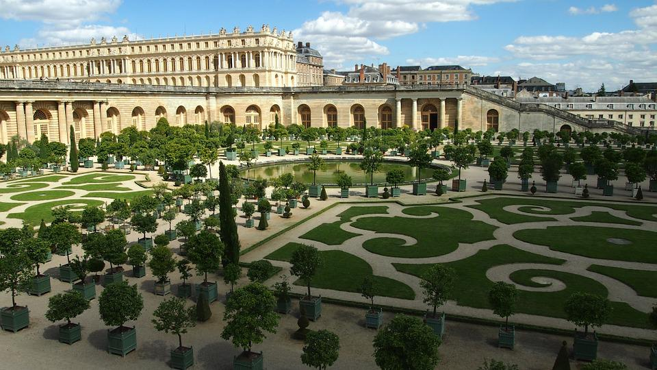Versailles, Castle, Paris, Places Of Interest, Garden