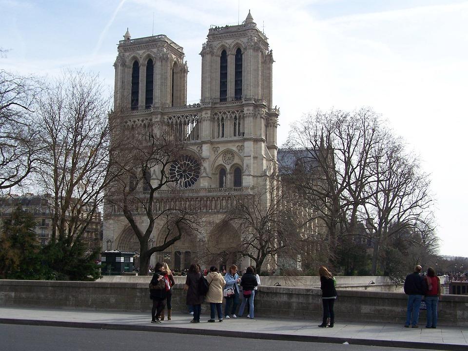 Cathedral, Architecture, Notre-dame, France, Paris