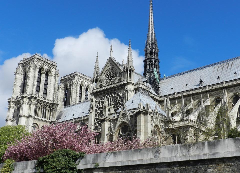 Paris, Notre Dame, Cathedral, Seine River