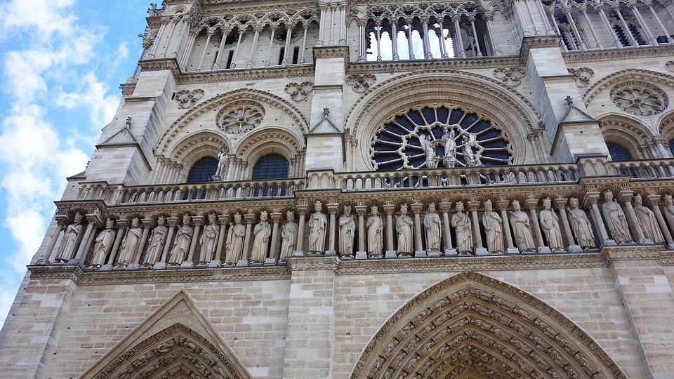 Notre Dame De Paris, Church, Paris