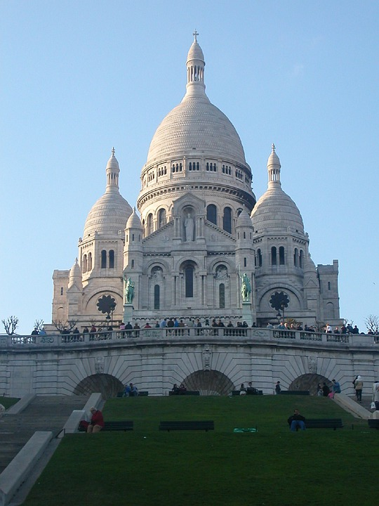 Paris, Sacre Coeur, Church